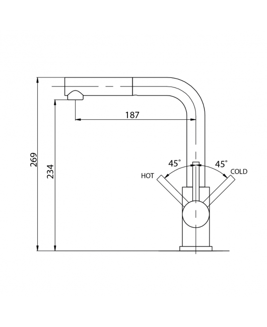 Baterie chiuveta Modus 2383-601