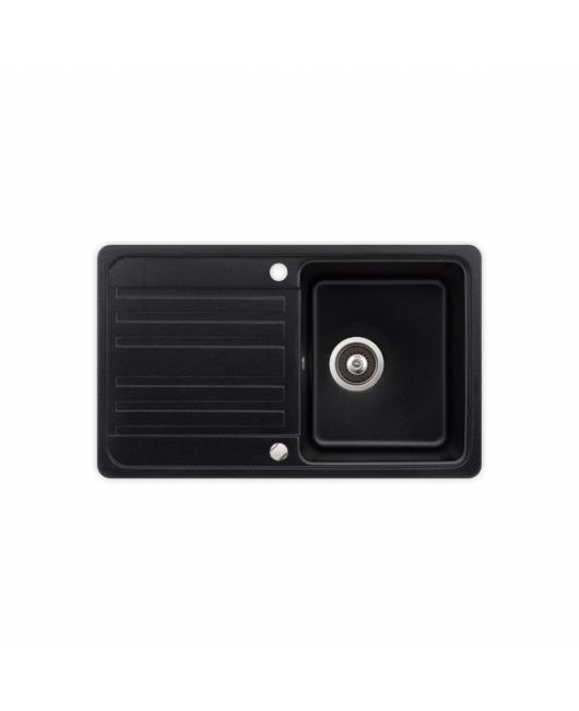 Chiuveta de bucatarie Notus SQ101-601AW - negru metalic