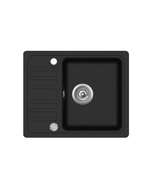 Chiuveta de bucatarie Notus SQ102-601AW - negru metalic