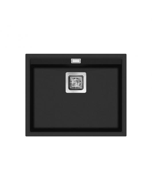 Chiuveta de bucatarie Delicia SQD100-601W - negru metalic