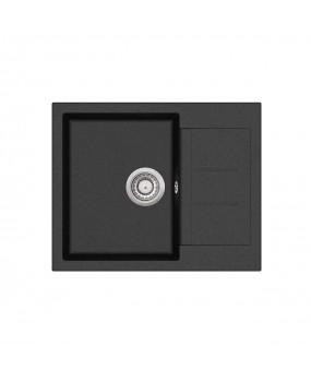 Chiuveta de bucatarie Tesa SQT102-601AW - negru metalic