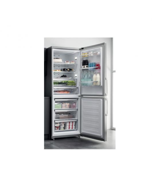 Combina frigorifica No Frost Hotpoint HA70BE 72 X